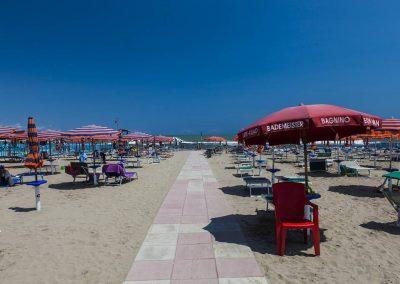 Campeggio TreDue: la spiaggia